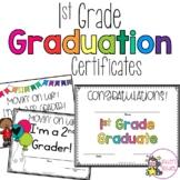 1st Grade Graduation Certificates