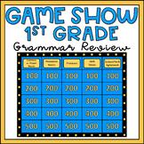 1st Grade Grammar Review Game Show EDITABLE