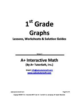 1st Grade Graphs Lessons, Worksheets, Solution Manuals
