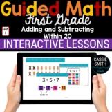 1st Grade Math Add Subtract Within 20 1.OA.3-1.OA.7 -Googl