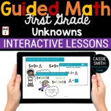 1st Grade Math Unknowns 1.OA.8 -Google Classroom