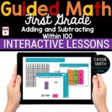 1st Grade Math Add Subtract Within 100 1.NBT.4 1.NBT.5 1.N