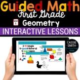 1st Grade Math Geometry 1.G.1 1.G.2 1.G.3 -Google Classroom