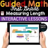 1st Grade Math Measuring Length 1.MD.1 1.MD.2 -Google Classroom
