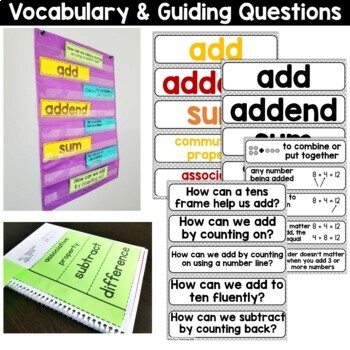 1st Grade Guided Math -Unit 1 Addition and Subtraction Within 20