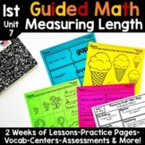 1st Grade Guided Math -Unit 7 Measuring Length