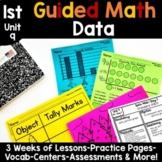1st Grade Guided Math -Unit 9 Data