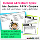 1st Grade Hands-On Word Problems Kit 1: Party Problems