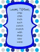 1st Grade Harcourt Storytown Spelling Word Lists - Theme 4