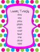1st Grade Harcourt Storytown Spelling Word Lists - Theme 5