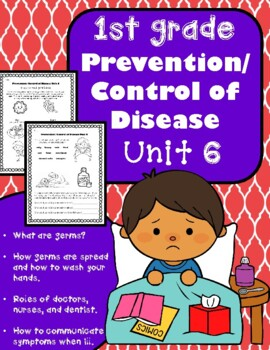 1st Grade Health - Unit 6: Prevention / Control of Disease