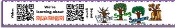 1st Grade Homework Bundle with QR Codes (184 homework bracelets!)