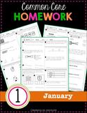1st Grade Homework: January