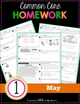 1st Grade Homework: May