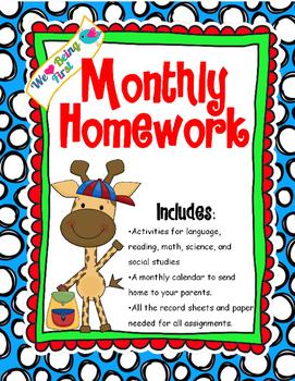 Homework help for 1st grade