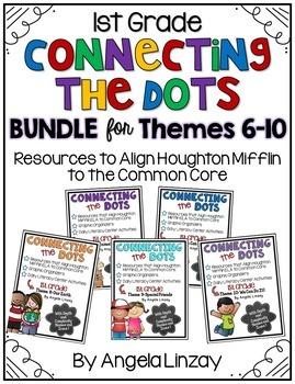 1st Grade Houghton Mifflin Common Core BUNDLE - Themes 6-10