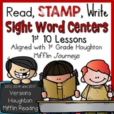 Journeys 1st Grade Read Stamp Write Lessons 1-10 aligned with HMH Journeys
