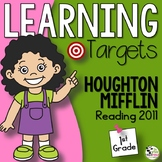 Journeys 1st Grade Reading Learning Targets aligned with HMH Journeys