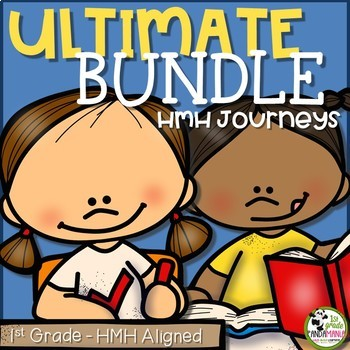 1st Grade Reading, Writing, Spelling Ultimate Bundle Aligned with HMH Journeys