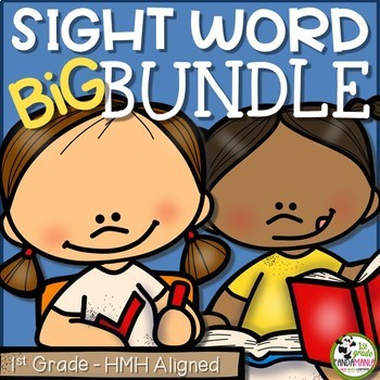 1st Grade Sight Word BUNDLE Aligned with HMH Journeys 2011, 2014 and 2017