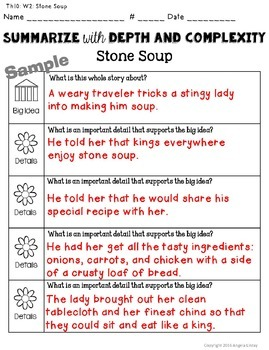 1st Grade ELA Common Core Activities: Aligned with Houghton Mifflin Theme 10