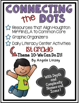 1st Grade Houghton Mifflin Theme 10: Common Core, Depth &
