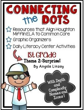 1st Grade Houghton Mifflin Theme 2: Common Core, Depth & C