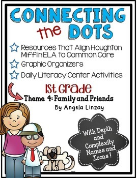 1st Grade ELA Common Core Activities: Aligned with Houghton Mifflin Theme 4
