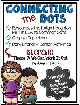 1st Grade Houghton Mifflin Theme 7: Common Core, Depth & C