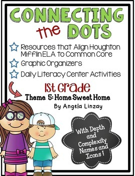 1st Grade ELA Common Core Activities: Aligned with Houghton Mifflin Theme 5
