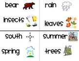 1st Grade Houghton Mifflin Vocabulary Cards for Themes 1-4