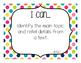 "1st Grade ""I Can"" Statements: ELA Standards - Rainbow Colors"