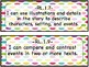 """1st Grade """"I can"""" standards in Polka Dots"""