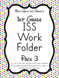 1st Grade ISS Work Packet - Pack 3... Activities for all day!