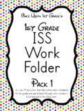 1st Grade ISS Work Packet - Pack 1... Activities for all day!