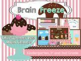 Ice Cream Brain Freeze Math Centers