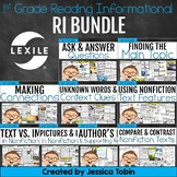 1st Grade Reading Informational Bundle- Common Core Reading Units RI.1