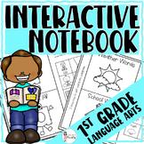 1st Grade Interactive Flip Flap Books (Language Arts)