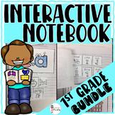 1st Grade Interactive Flip Flap Books _BUNDLE