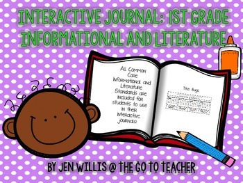 1st Grade Interactive Journal: Informational and Literature