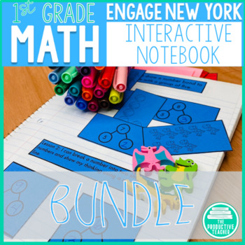 1st Grade Interactive Math Notebook: Complete Year Bundle