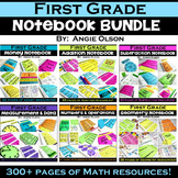 Math Interactive Notebook: 1st Grade