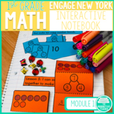 1st Grade Math Engage New York Aligned Interactive Notebook: Module 1