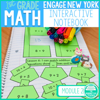 Engage New York Math Aligned Interactive Notebook: Grade 1, Module 2
