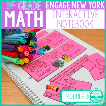 Engage New York Math Aligned Interactive Notebook: Grade 1, Module 3