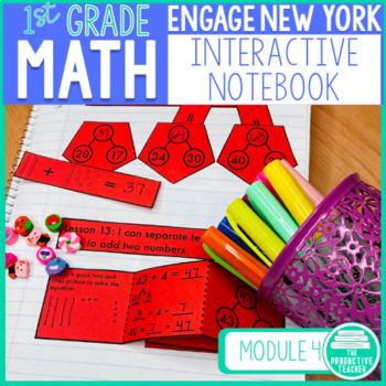 Engage New York Math Aligned Interactive Notebook: Grade 1, Module 4