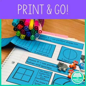 1st Grade Interactive Math Notebook: Module 5