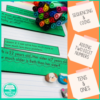 Engage New York Math Aligned Interactive Notebook: Grade 1, Module 6