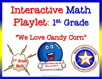 1st Grade Interactive Math Playlet: We Love Candy Corn