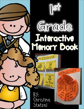1st Grade Interactive Memory Book (End of the Year)